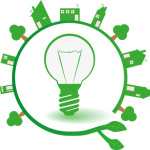 Urban Ecology Green Idea Light Bulb